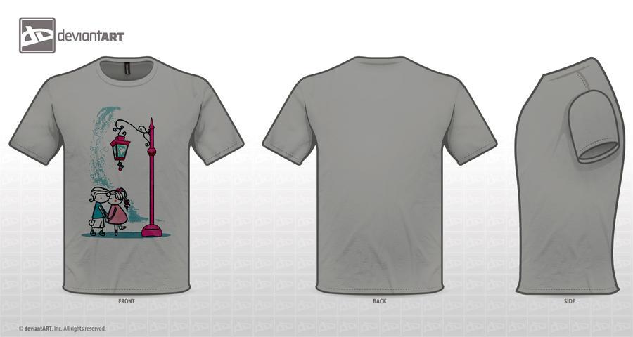 T-shirt by molaei