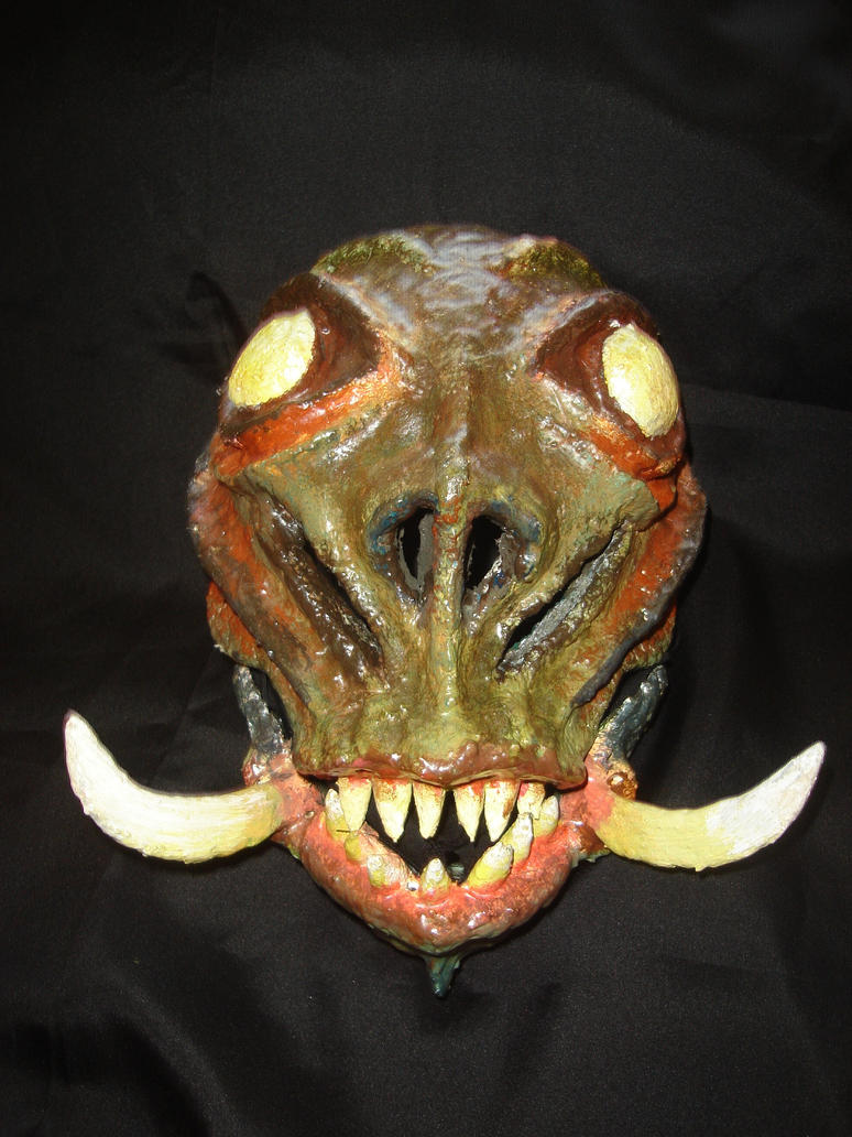 Monster mask by bungot