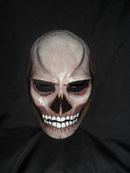 skull painted mask