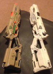 Empirial and Bounty Blasters