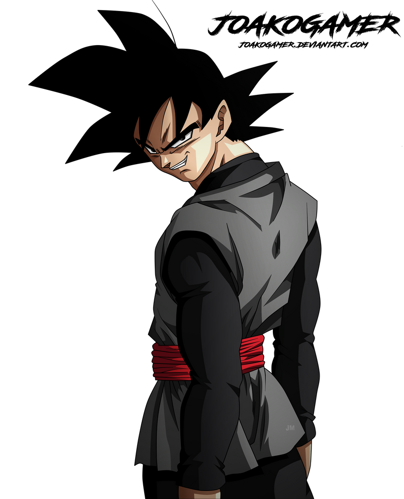Black Goku Manga 25 by JoakoGamer