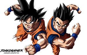 Goku and Gohan (Father and Son)