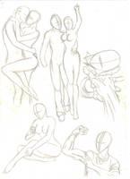 poses study- 4 by mariposhy
