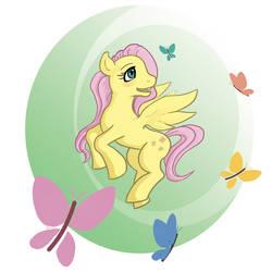 Fluttershy by SketchytheScribbler