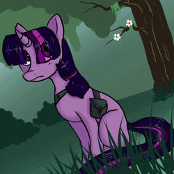 Everfree Twilight by SketchytheScribbler