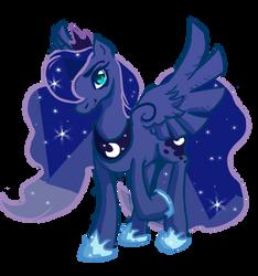 Luna 1 by SketchytheScribbler
