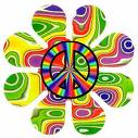 phsycadelic peace sign by death-to-the-onions