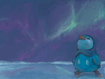 piplup in the artics