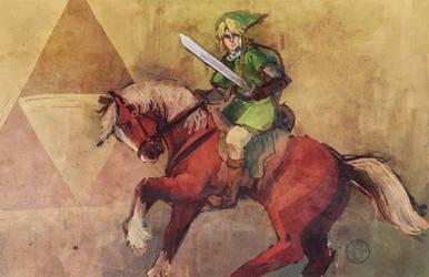 Legend of Zelda by angitsai