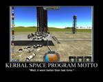 First Kerbal Space Program Motivator