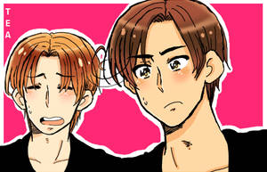 Veneziano and Romano by ClumsyTea