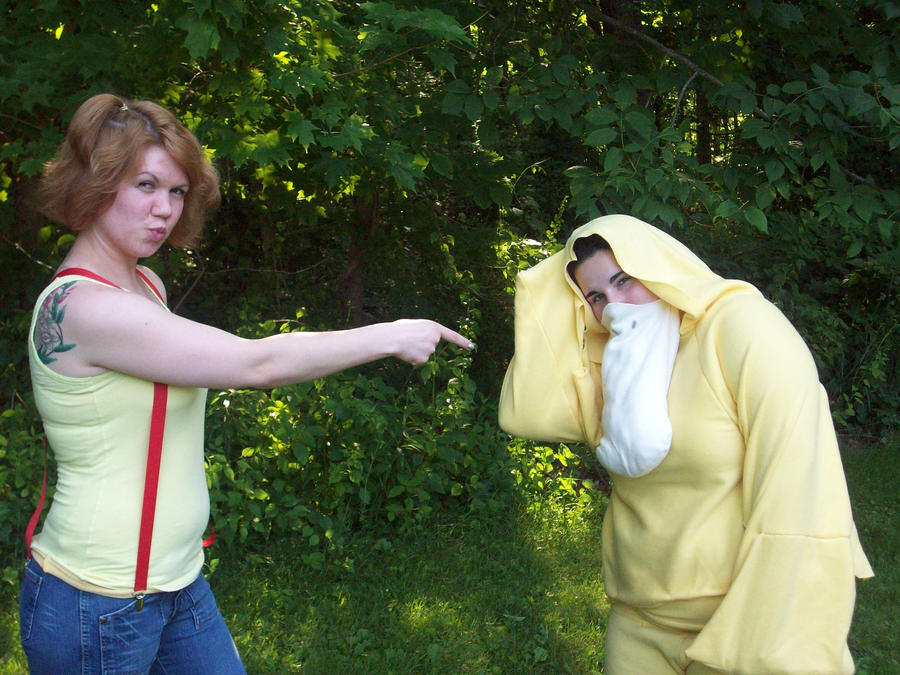 misty and psyduck by tawnie8376
