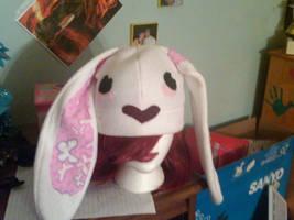 bunny hat by tawnie8376