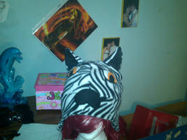 zebra hat by tawnie8376