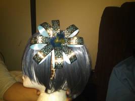 big paisley bow headband by tawnie8376