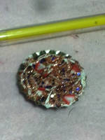 Small decoden pies on magnet or clip by tawnie8376