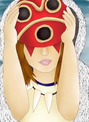 Princess Mononoke by tawnie8376