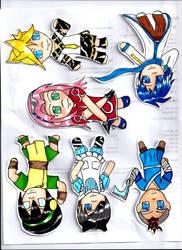 Chibi Sheet by tawnie8376