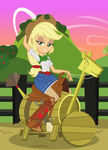 Comm. Pin-Up Girls: Applejack by Mother-of-Trolls