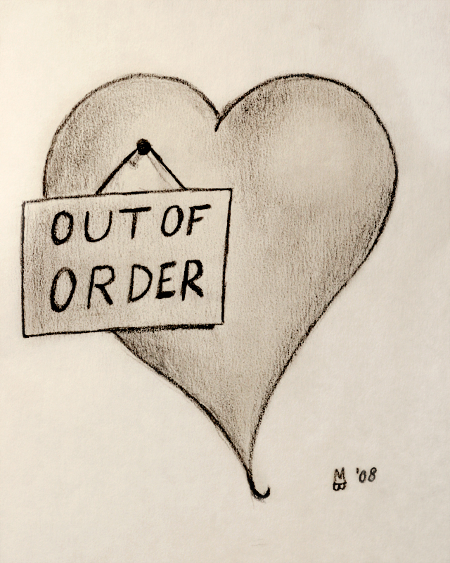 Shattered Heart Drawings Easy broken heart drawings
