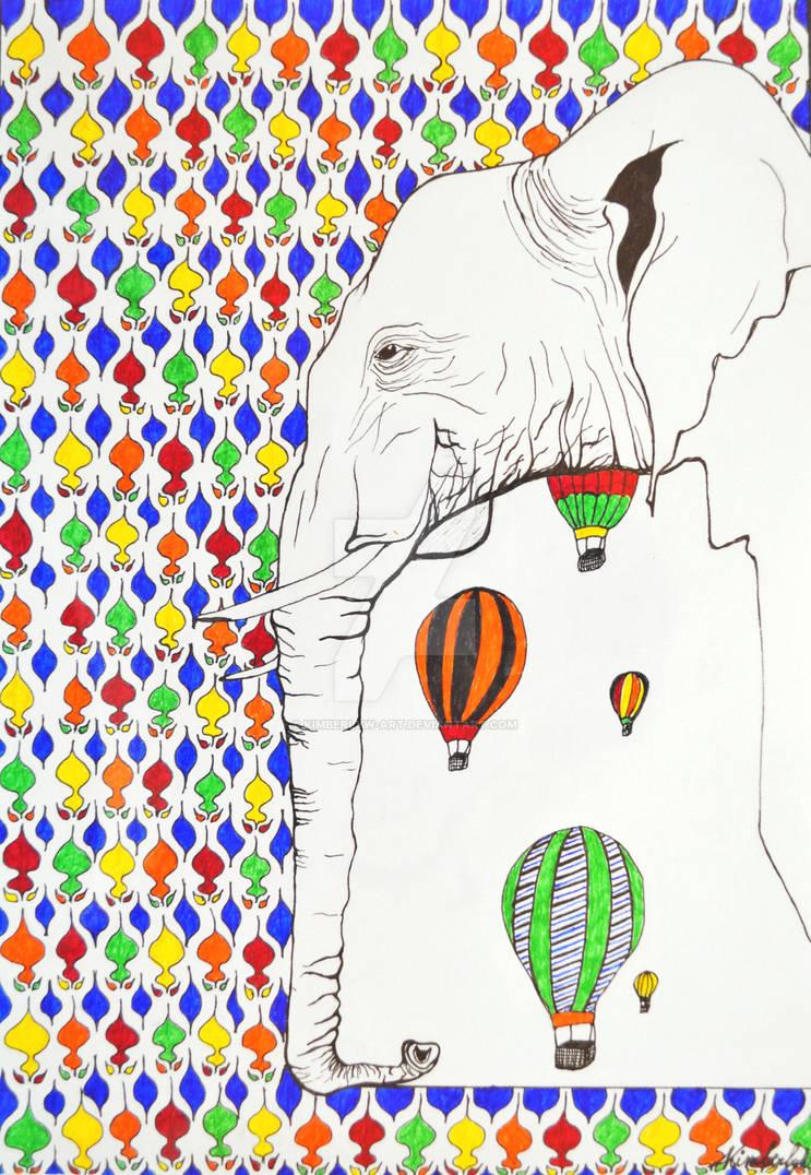 Elepho by KimberlyW-Art