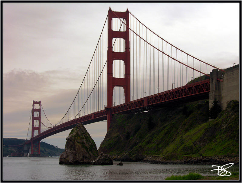 Under The Golden Gate by dirtycar74