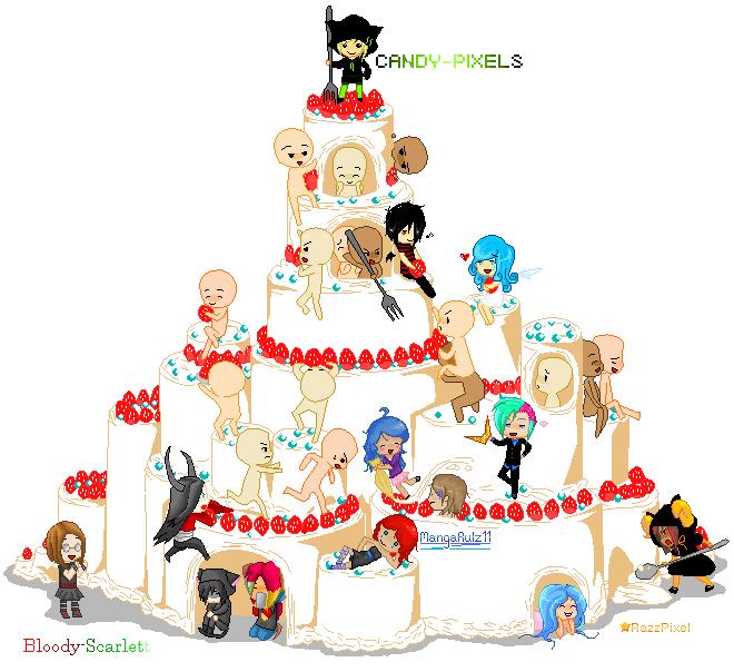 Cake Tag by Bloody-Scarlett