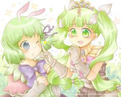 Amber And Frey by kimgabydesu
