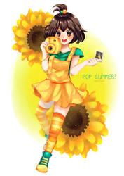 Girlfriend Beta Contest - Ooyama Mayuri by kimgabydesu