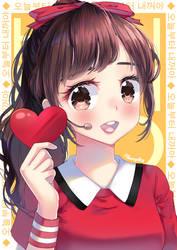 AKB48 Honda Hitomi Very Very Very by kimgabydesu