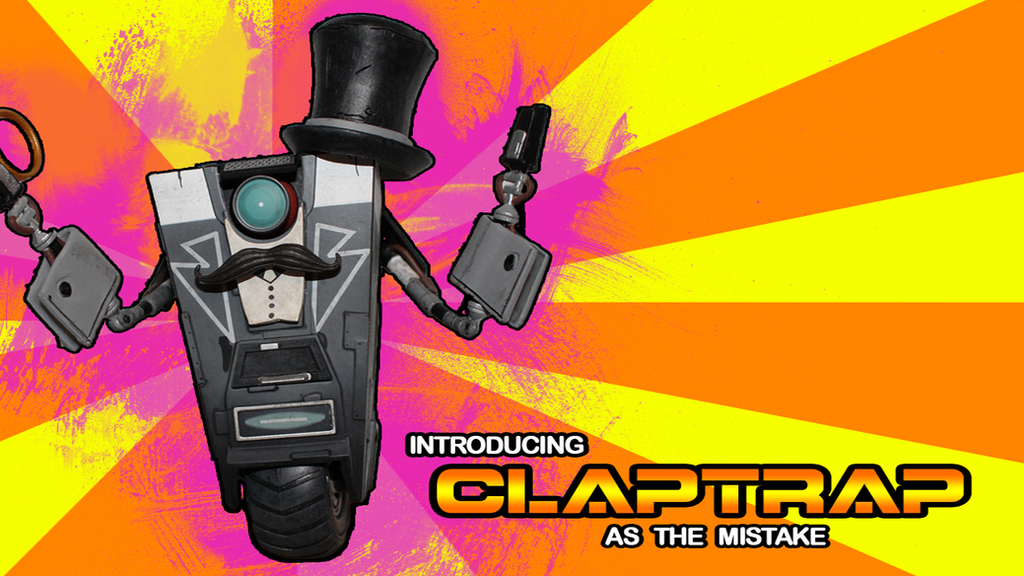 Top Hat Claptrap Wallpaper By Crypto6 On DeviantArt