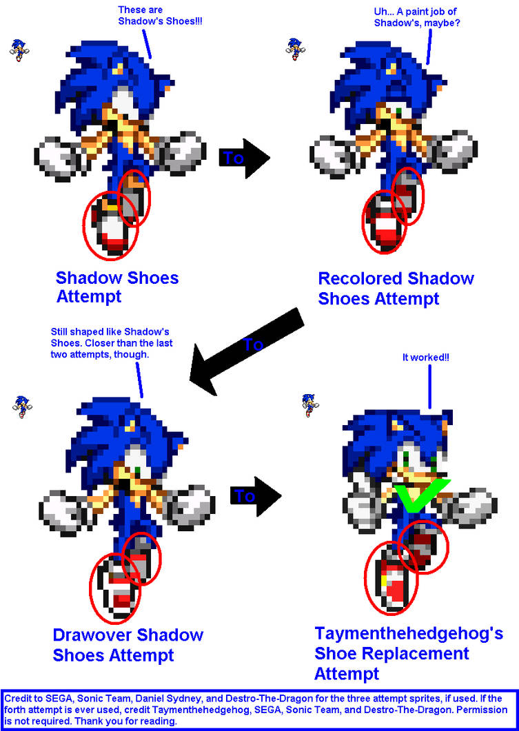 History Of Sonic S Shadow Jump Shoes By Taymenthehedgehog On Deviantart