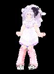 . : M o d e l  D L : . Tda V Flower Nightgown