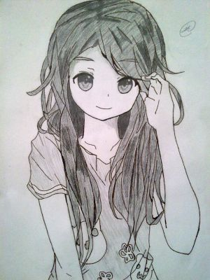 Anime Girl WITHOUT Glasses 3 By KatieHorror On DeviantArt