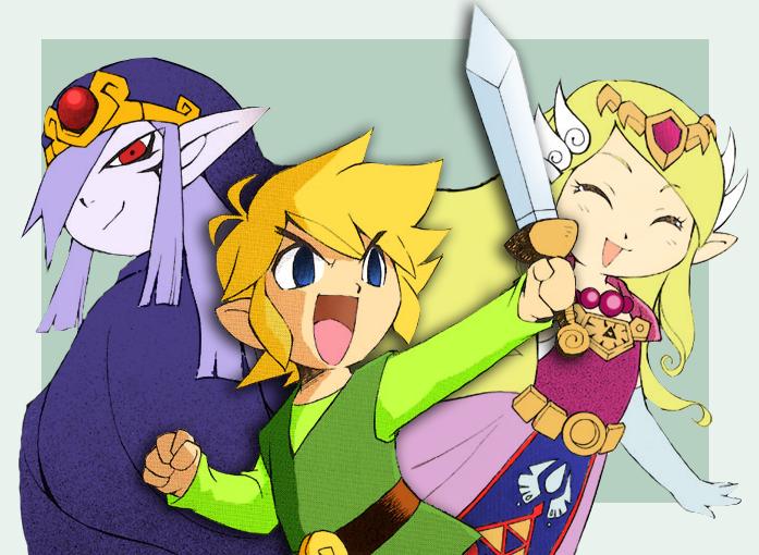 Zelda: Minish Cap by midwaymilly on DeviantArt