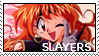 Slayers Stamp - Lina by midwaymilly
