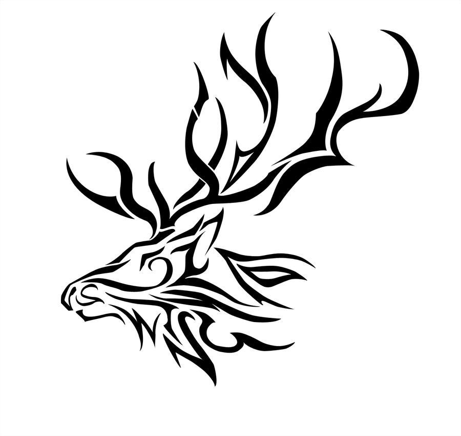 Elk Tribal by Dynasthai