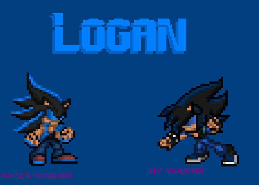 Logan's new look (PLEASE VOTE) by Xx-ApocalypseHeartxX