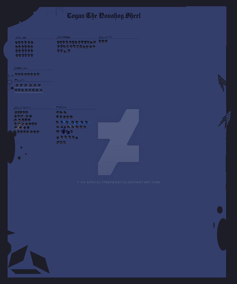 Xx:.My Sprite Sheet.:xX by Xx-ApocalypseHeartxX