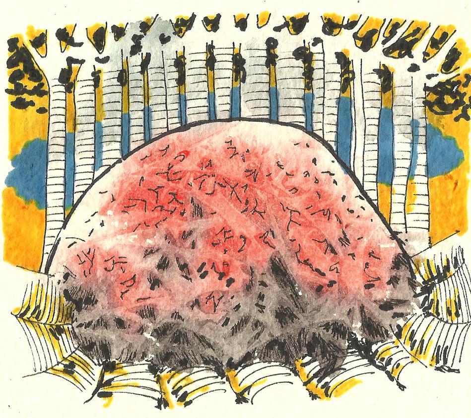Forest Brain by gorzelakvarel