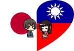 NiTai Shimeji Heart by LadyAxis