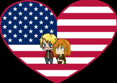 America Shimeji Heart by LadyAxis