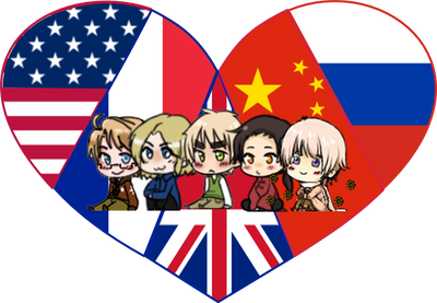 Allied Powers Shimeji Heart by LadyAxis