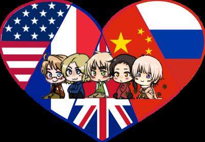 Allied Powers Shimeji Heart by LadyAxis