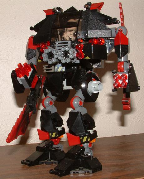 Lego Mech 1 by CodyFurlong
