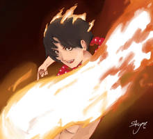 Portgas D. Ace, the Firefist by BlueSkyme