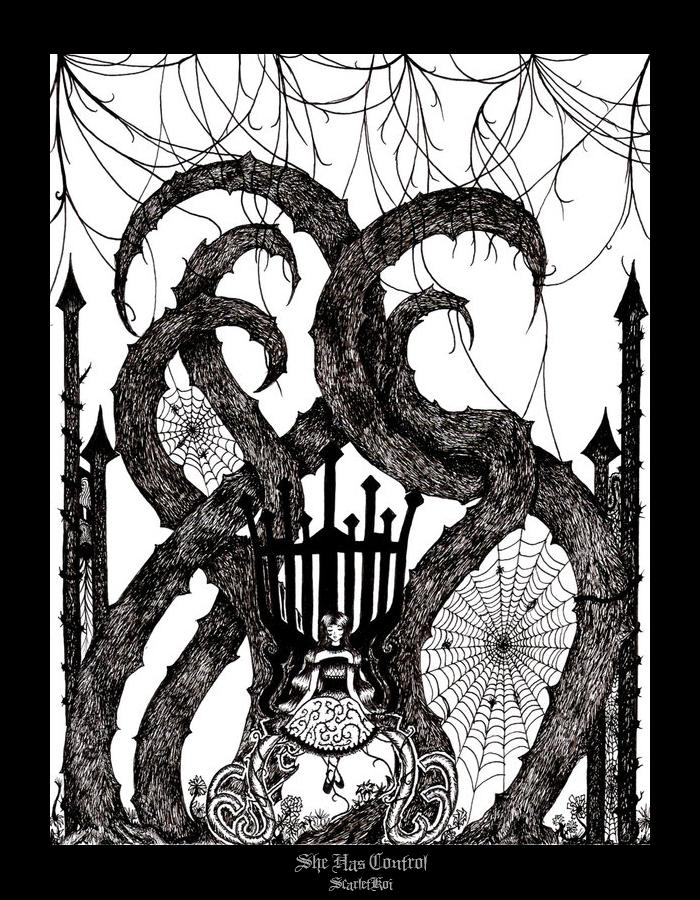 darkness flourishes by ScarletKoi