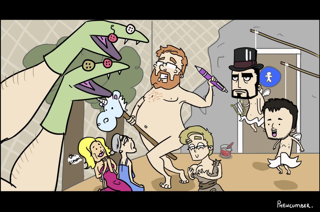 Jesse Cox, a low budget parody by Phewcumber