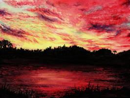 When the sun goes down... by Diamantenstaub