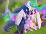 The Four Princesses of Equestria